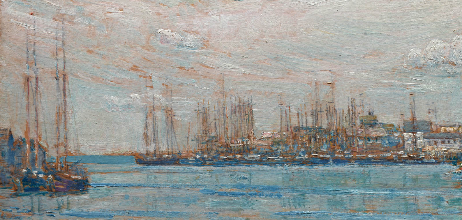 Harbor of a Thousand Masts (1919-d-2)