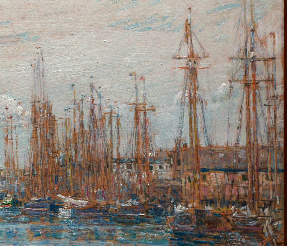 Harbor of a Thousand Masts (1919-d-3)