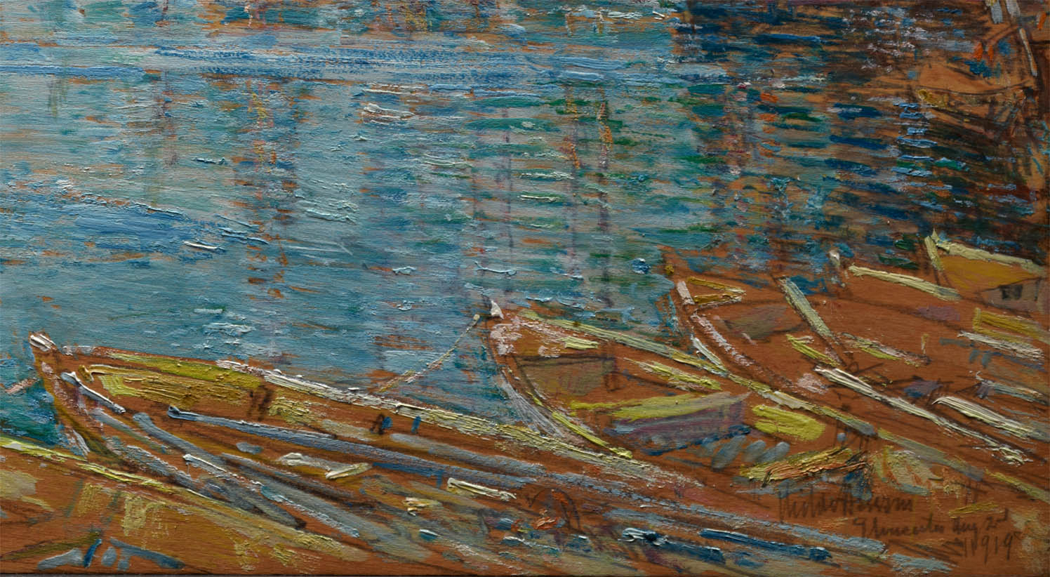 Harbor of a Thousand Masts (1919-d-5)