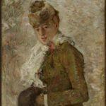 Hiver, Femme au manchon (1880)