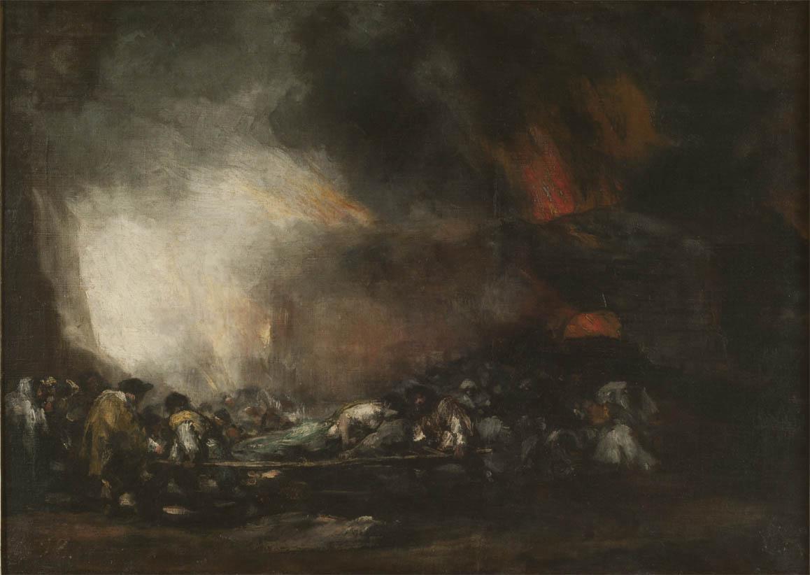 Incendio de un hospital (1808-1812)