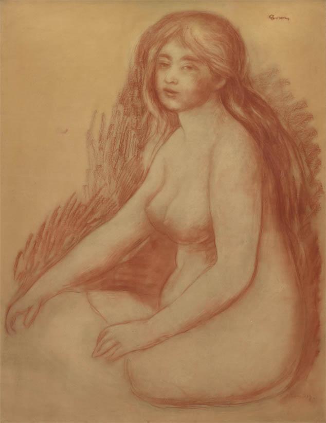 La Baigneuse (1880-1881)