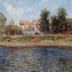 La berge de la Seine (1880)