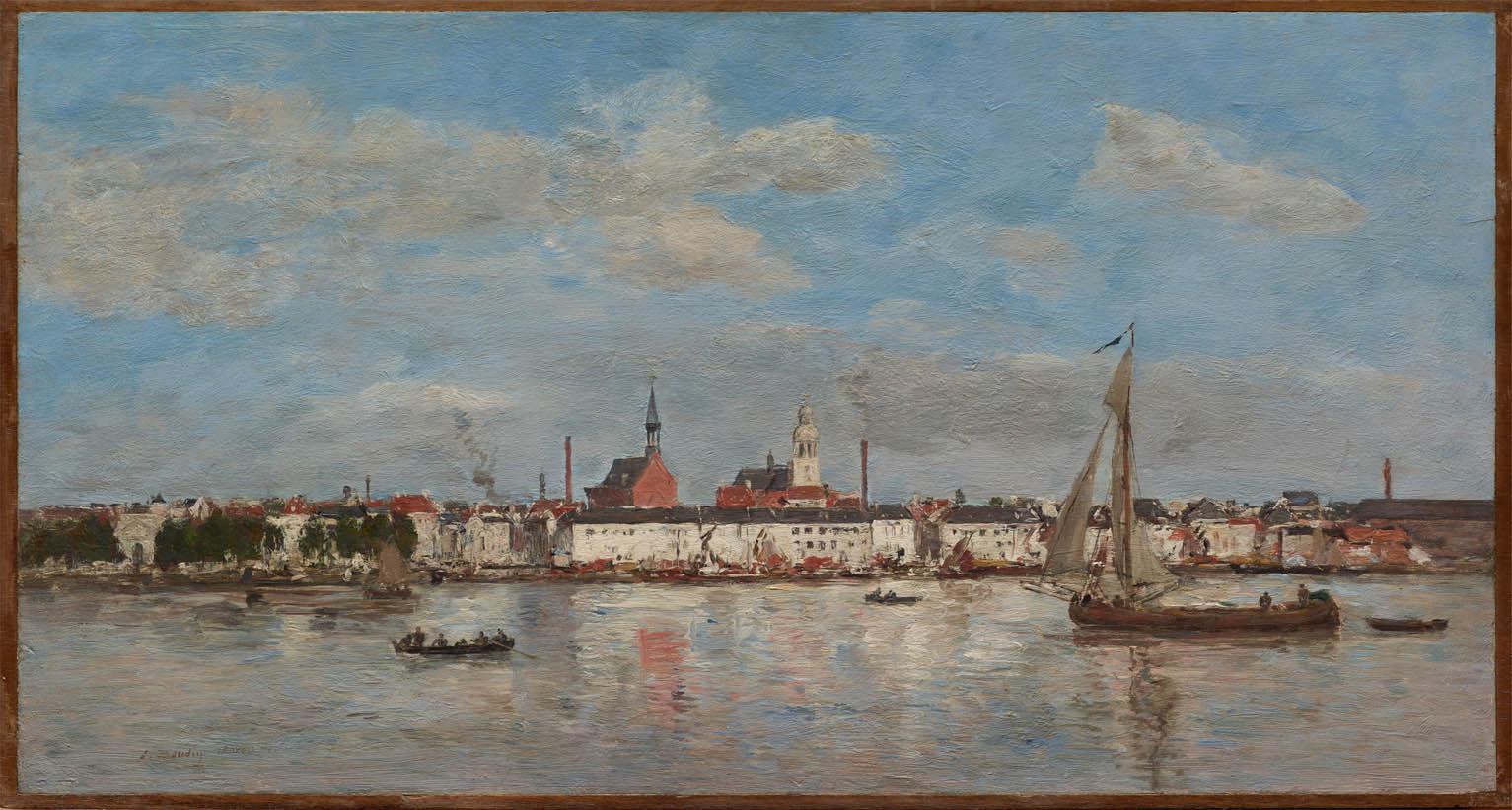 Le quai à Anvers (1874)