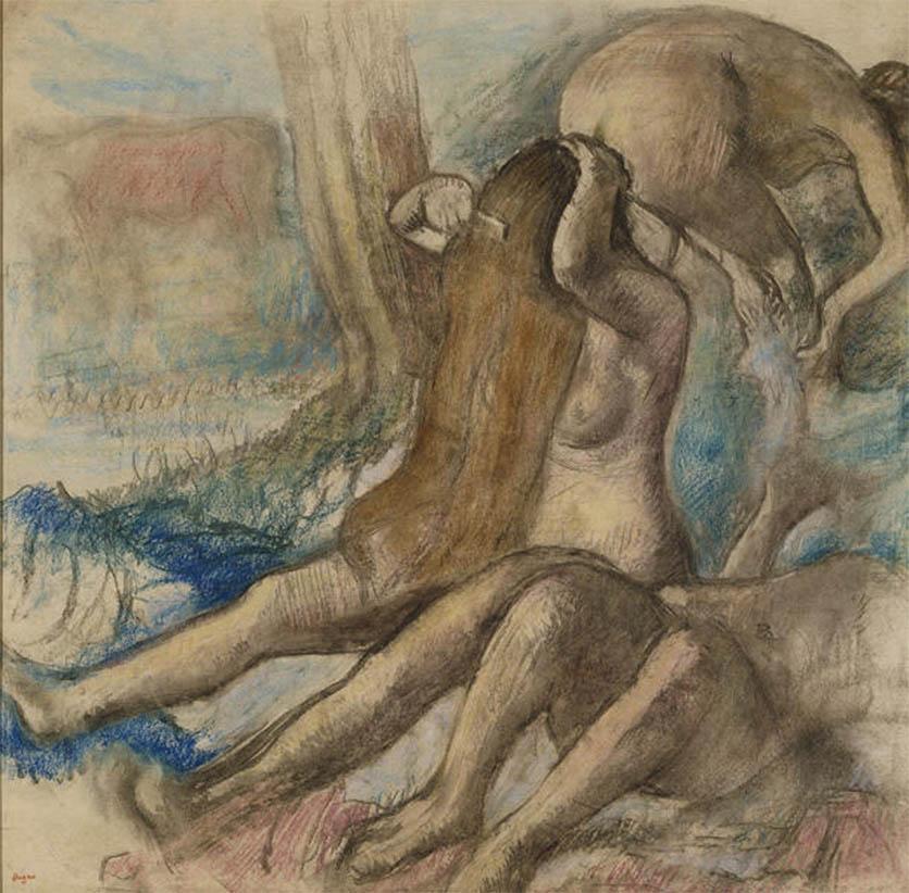 Les baigneuses (1890-1895)