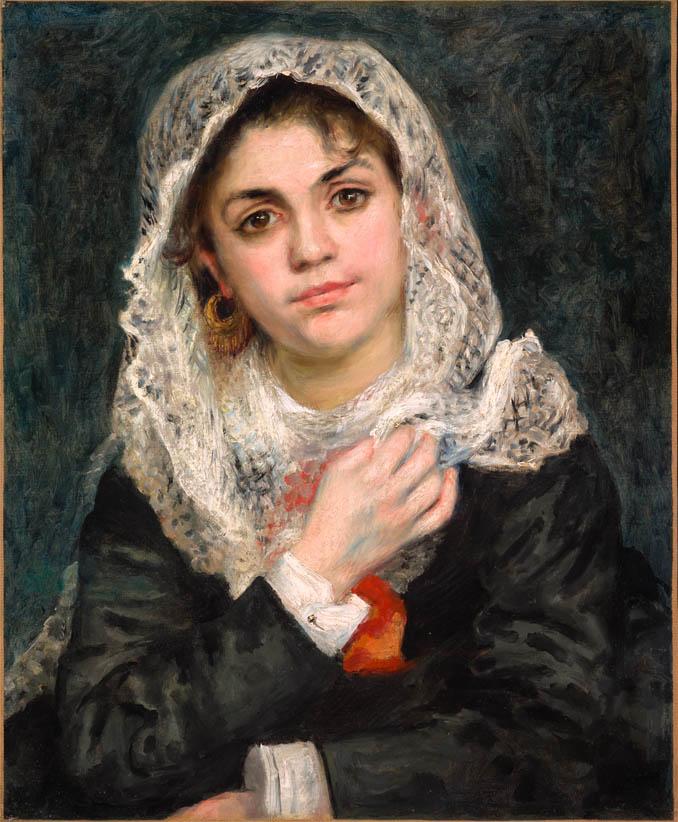 Lise au châle blanc (c 1872)
