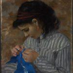 Lise cousant (1867-1868)