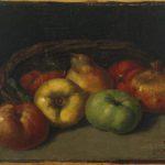 Nature morte avec pommes, poires et grenades (1871-1872)