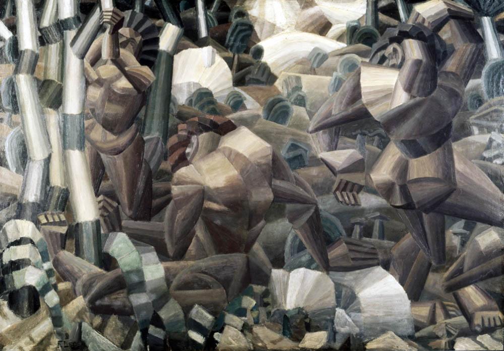 Nus dans la forêt (1909-1911)