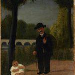 Promeneur et enfant (1905-1906)