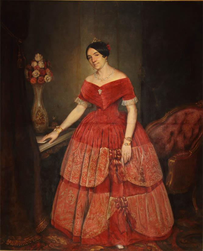 Retrato de Manuelita Rosas (1851)