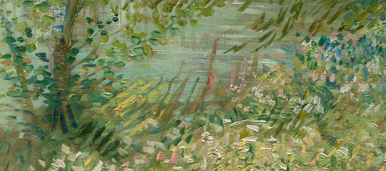 River Bank in Springtime (1887-d-2)