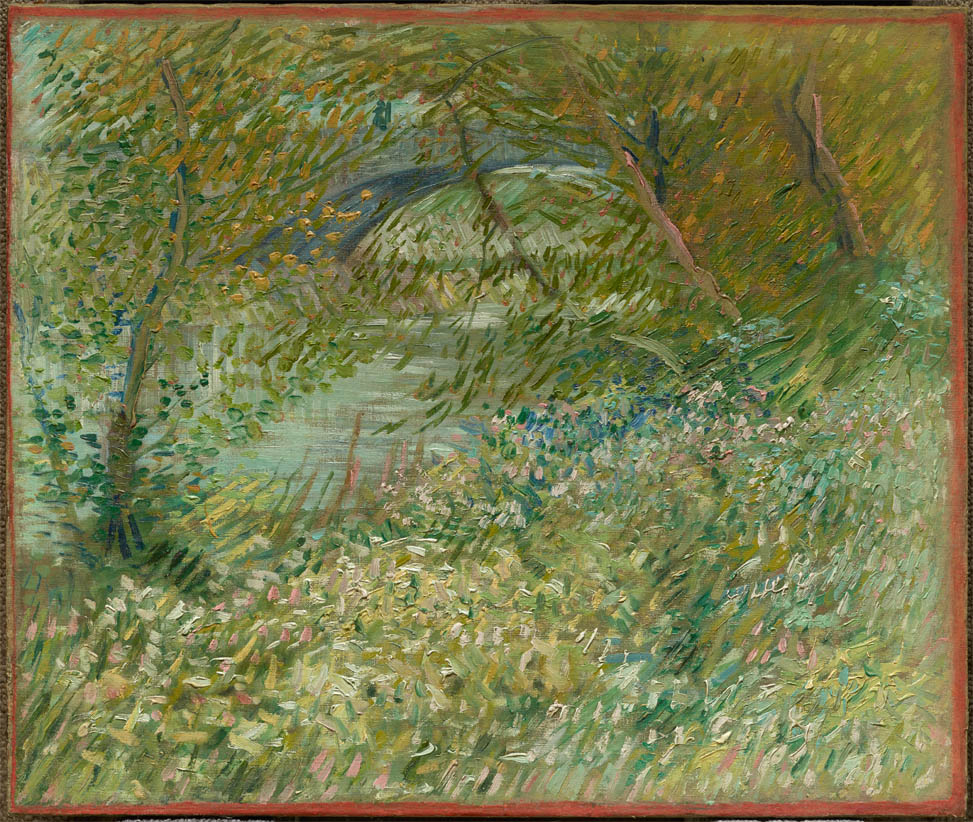 River Bank in Springtime (1887)