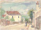 Rue de l'Hermitage, Pontoise (1873-1875)