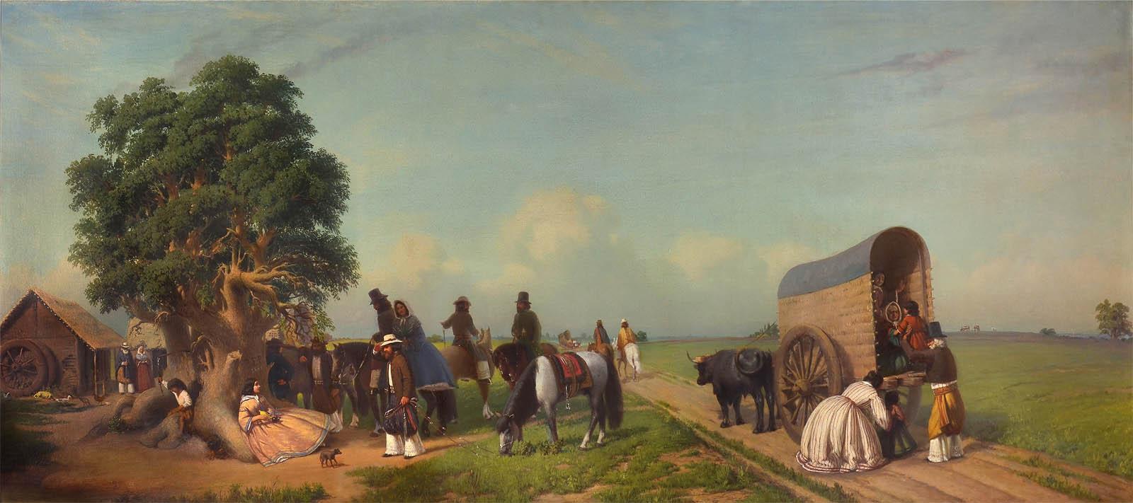 Un alto en el campo (1861)