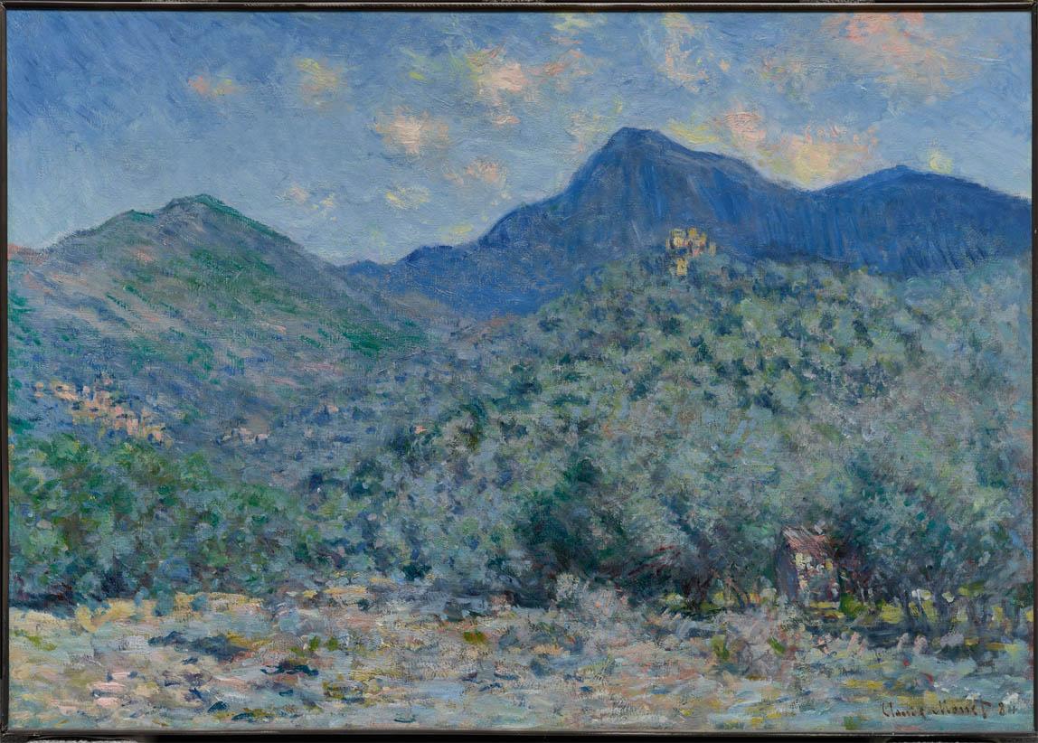 Valle Buona, près de Bordighera (1884)