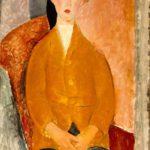 Garçon en culottes courtes (c 1918)