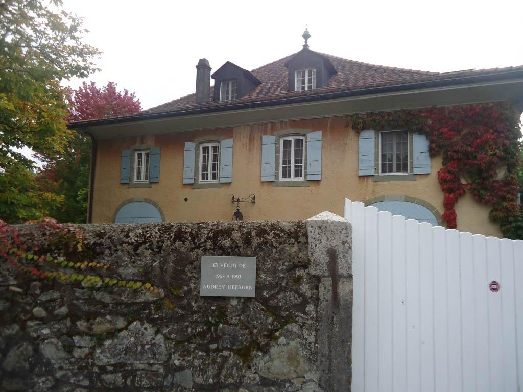 La Paisible, Audrey Hepburn's home