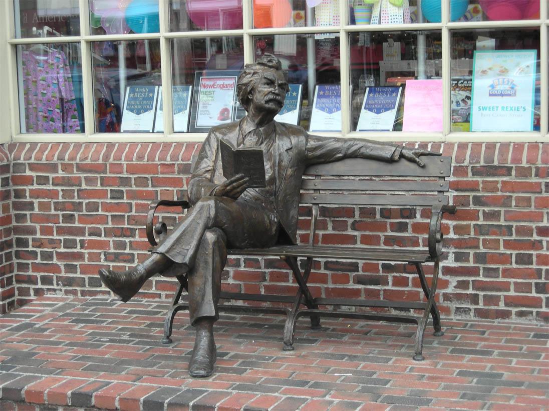 Mark Twain in Redding, CT