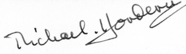 Michael Hordern_signature