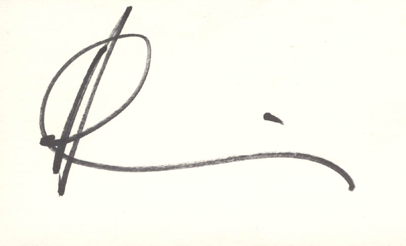 Andy García_signature